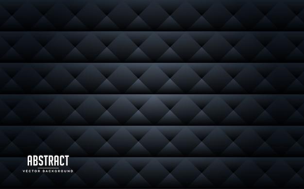 Abstracte geometrische zwarte en grijze kleur als achtergrond