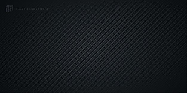 Abstracte gestreepte lijnen diagonale zwarte achtergrond