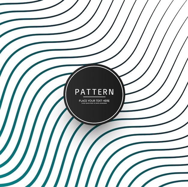 Abstracte gestripte lijnen patroon achtergrond