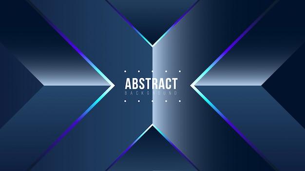 Abstracte glanzende blauwe achtergrond