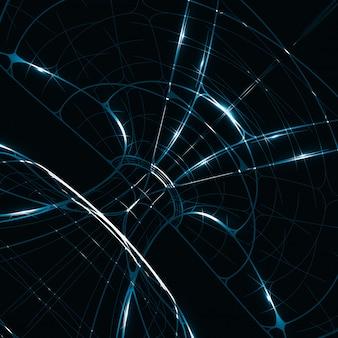 Abstracte glanzende technische achtergrond