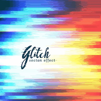 Abstracte glitch vervorming effect vector