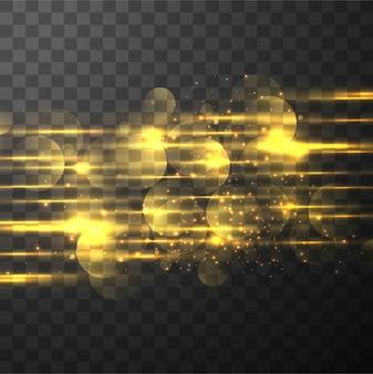 Abstracte gloeiende achtergrond verlichting