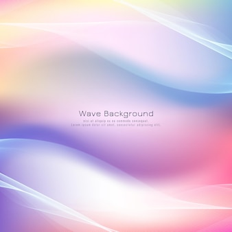 Abstracte golf kleurrijke achtergrond