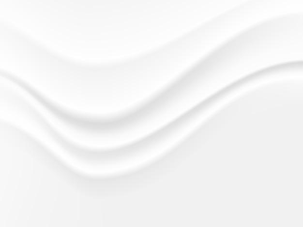 Abstracte golf witte en grijze toon vectorachtergrond