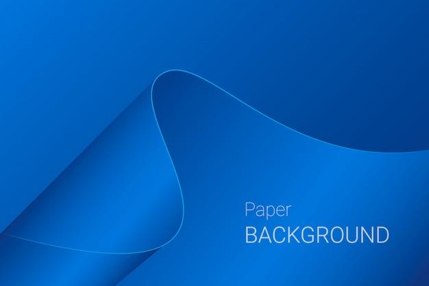 Abstracte golfdocument blauwe achtergrond