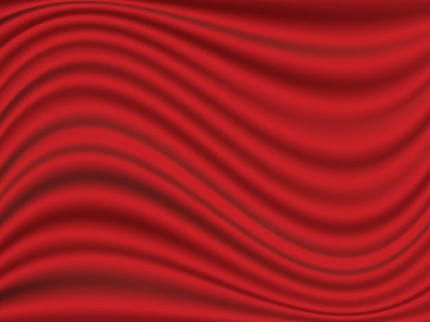 Abstracte golfzijde satijnen stof voor grote openingsceremonie