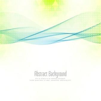 Abstracte golvende geometrische achtergrond