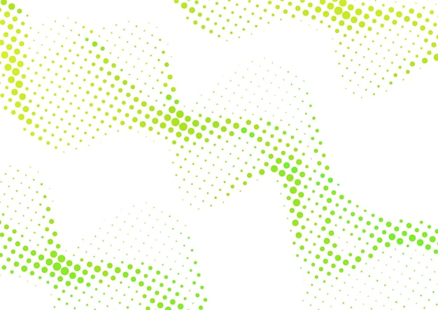Abstracte golvende kleurrijke gradiënt stippen halftone achtergrond, halftone achtergrondontwerp