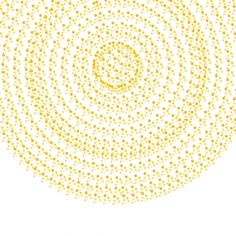 Abstracte gouden circle cofetti achtergrond
