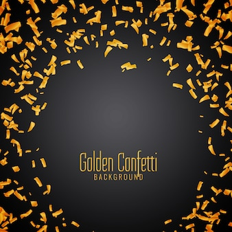 Abstracte gouden confetti achtergrond