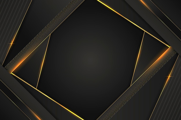 Abstracte gouden details luxe achtergrond
