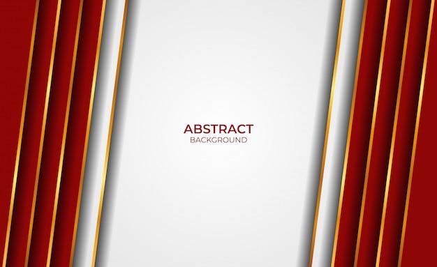 Abstracte gouden en rode achtergrond