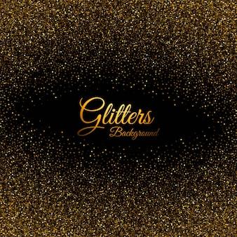 Abstracte gouden glinsterende stof textuur achtergrond