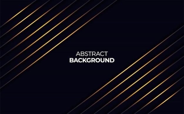 Abstracte gouden lichte lijn op donkere achtergrond
