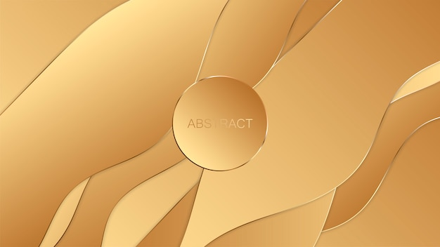 Abstracte gouden luxeachtergrond.