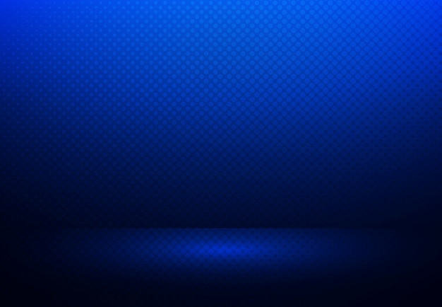 Abstracte gradiënt blauwe halftone achtergrond