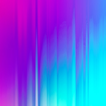 Abstracte gradiënt duotoon glitch achtergrond