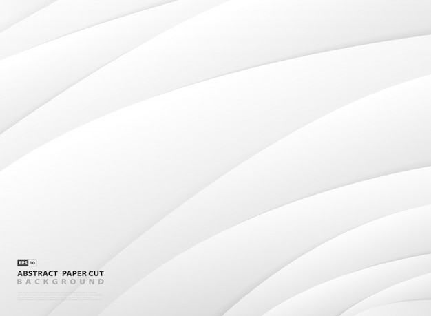 Abstracte gradiënt grijze en witte streep lijn patroon ontwerp achtergrond.
