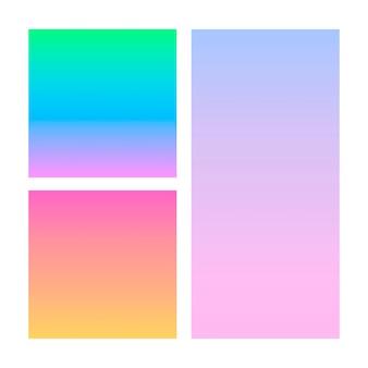 Abstracte gradiënt in de bol van violet, roze, blauw. sjabloon