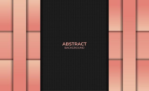 Abstracte gradiënt oranje kleur achtergrondontwerpstijl