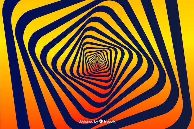 Abstracte gradiënt psychedelische effect achtergrond