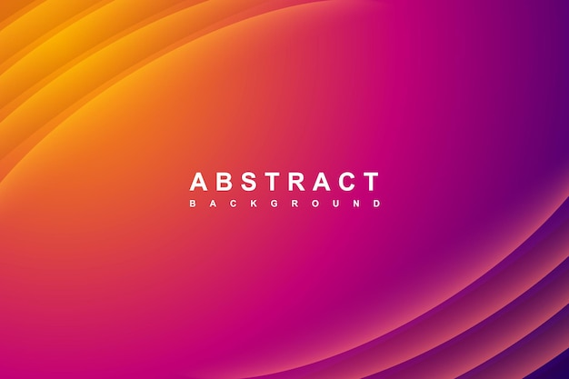 Abstracte gradiëntachtergrond met diagonale golvenlijnen