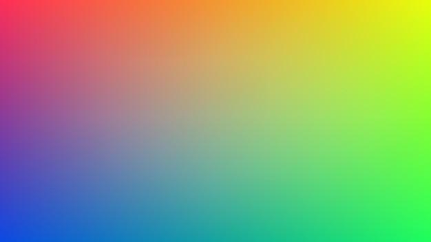 Abstracte gradiëntkleurachtergrond met lege vlotte en vage veelkleurige stijl voor decoratie