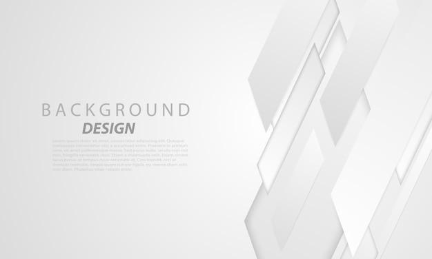 Abstracte grijze achtergrond poster met dynamiek. technologie netwerk illustratie.