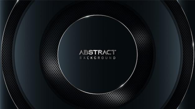 Abstracte grijze en blauwe technologieachtergrond