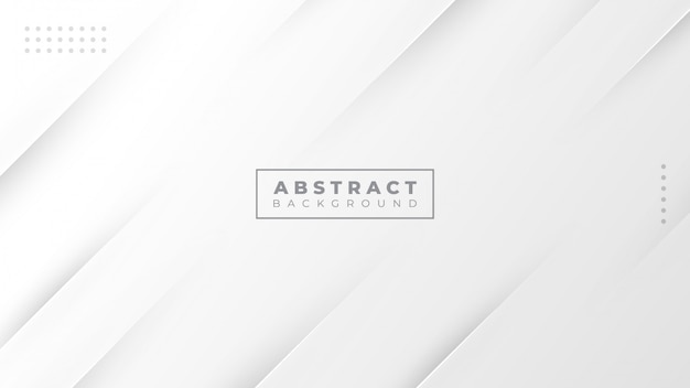 Abstracte grijze en witte gradiënt moderne achtergrond