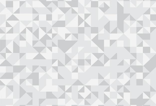 Abstracte grijze geometrische patroonachtergrond