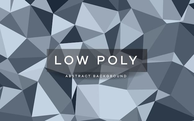 Abstracte grijze laag poly achtergrondstructuur. creatieve veelhoekige achtergrond.