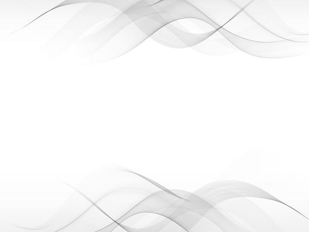 Abstracte grijze wuivende achtergrond met grijze element