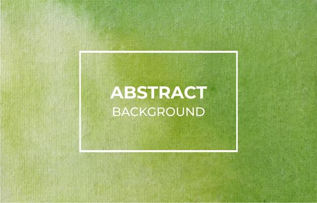 Abstracte groene aquarel textuur achtergrond