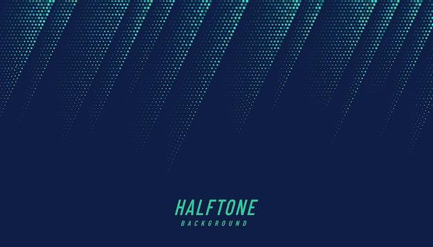 Abstracte groene en blauwe diagonale halftone.