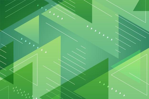 Abstracte groene geometrische achtergrond