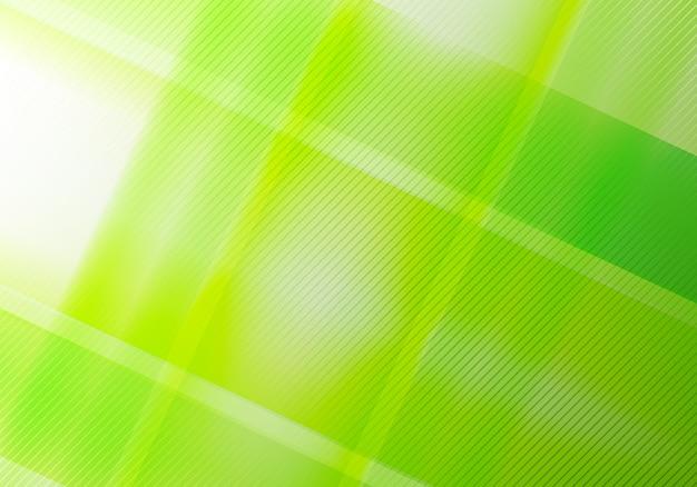 Abstracte groene geometrische diagonale lijnen