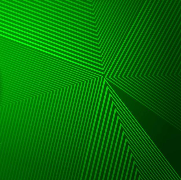 Abstracte groene geometrische lijnen achtergrond