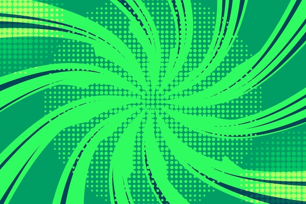 Abstracte groene halftone achtergrond