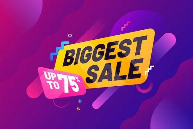 Abstracte grootste verkoopachtergrond