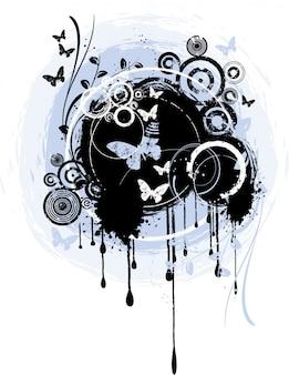 Abstracte grunge achtergrond