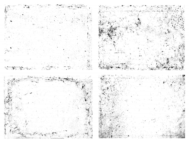 Abstracte grunge bekleding texturen
