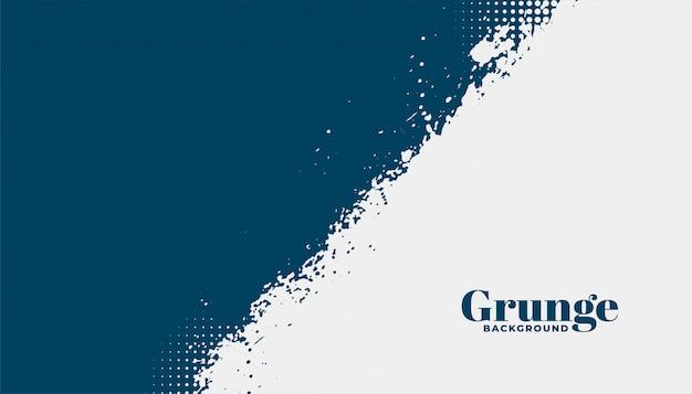 Abstracte grunge gestructureerde achtergrond in twee kleuren