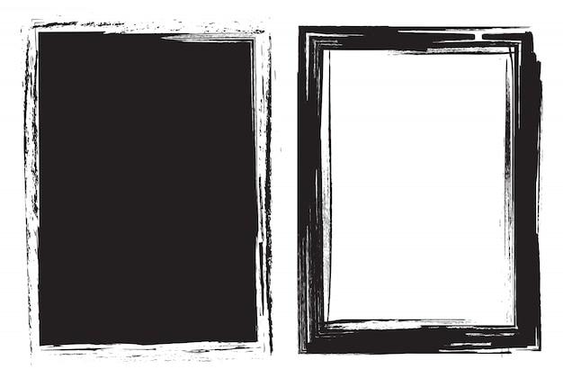 Abstracte grungeframes