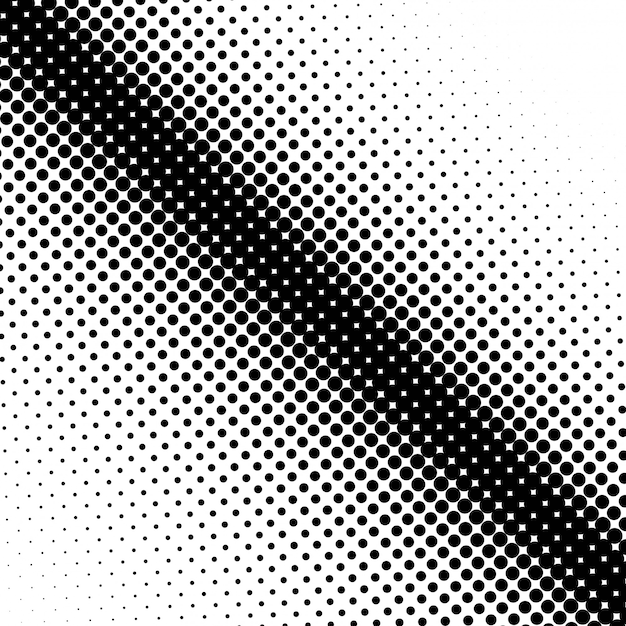 Abstracte halftone achtergrond vector