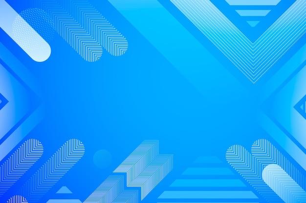Abstracte halftone blauwe vormen als achtergrond