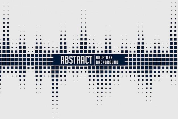 Abstracte halftone geluidsspectrumachtergrond