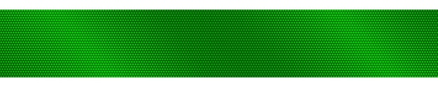 Abstracte halftone gradiënt horizontale banner in groene kleuren