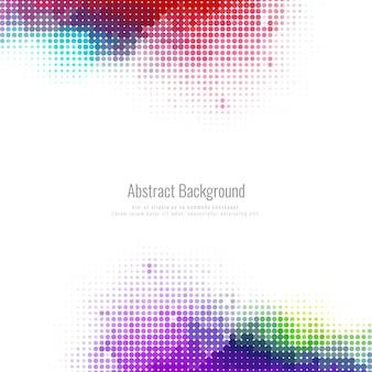 Abstracte halftone kleurrijke achtergrond